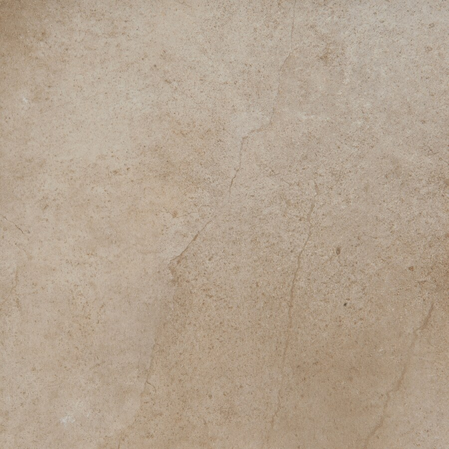 Emser St Moritz 11-Pack Cotton Porcelain Floor and Wall Tile (Common: 12-in x 12-in; Actual: 11.77-in x 11.77-in)