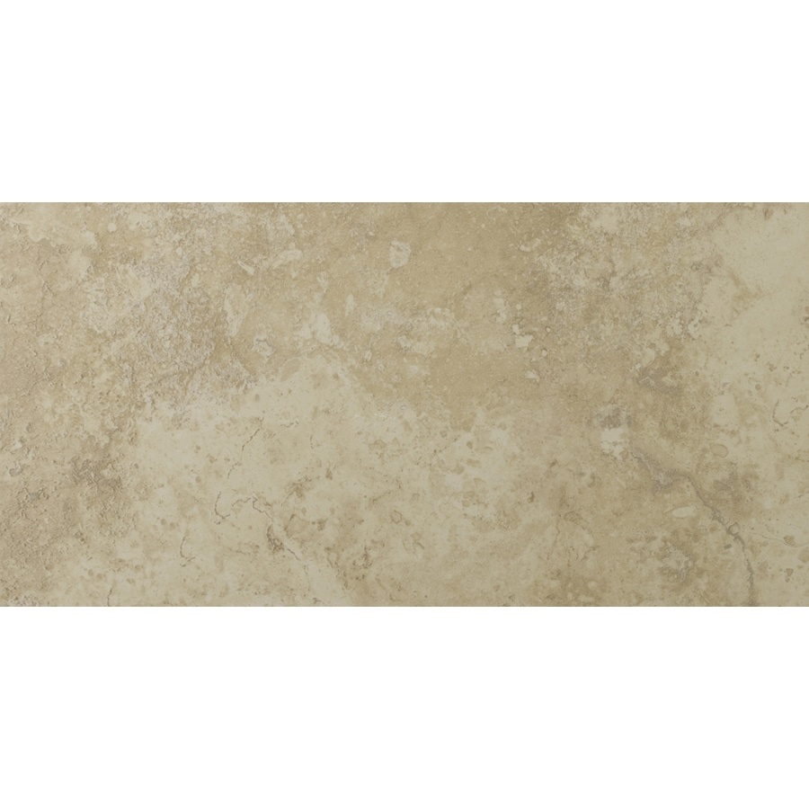 Emser Lucerne 8-Pack Alpi Porcelain Floor and Wall Tile (Common: 12-in x 24-in; Actual: 11.79-in x 23.79-in)