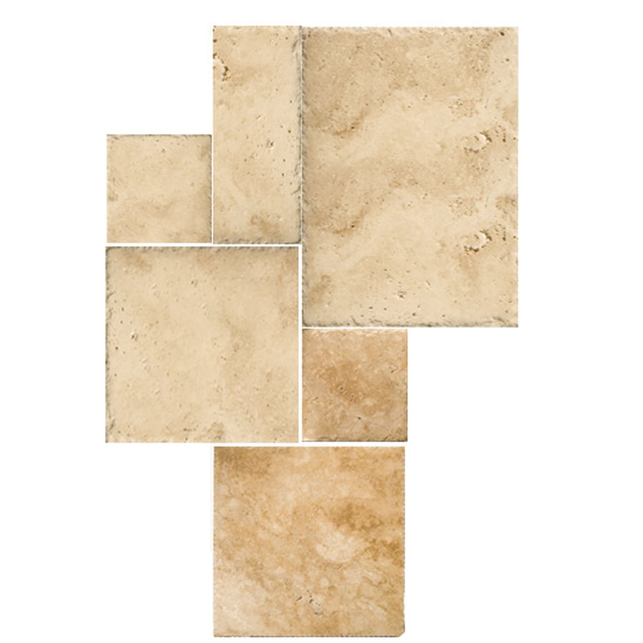 Shop emser 6 pack savera travertine floor and wall tile common emser 6 pack savera travertine floor and wall tile common 32 in dailygadgetfo Choice Image