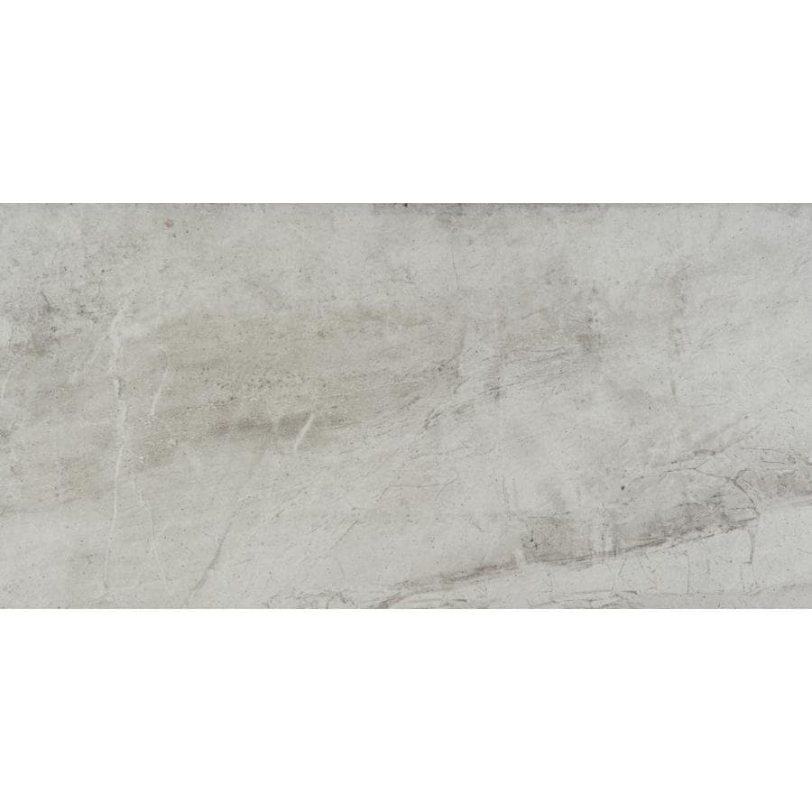Emser Eurasia 6-Pack Bianco Porcelain Floor and Wall Tile (Common: 12-in x 24-in; Actual: 11.79-in x 23.79-in)