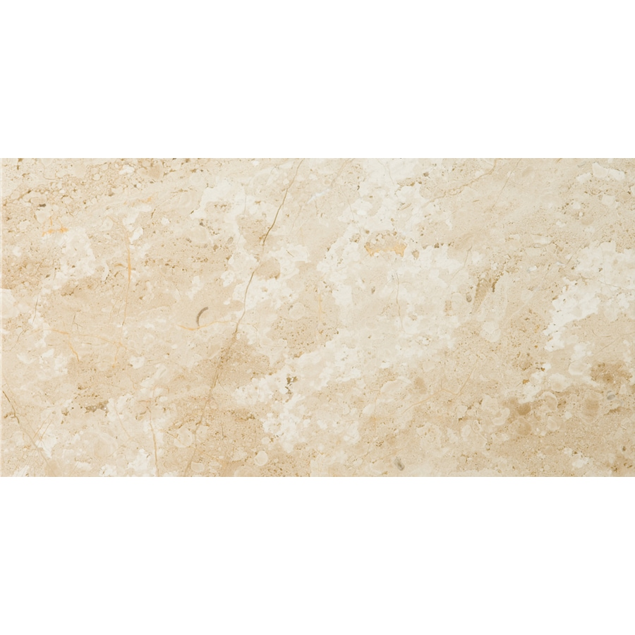 Emser 6-Pack Daino Reale Marble Floor and Wall Tile (Common: 12-in x 24-in; Actual: 12-in x 24-in)