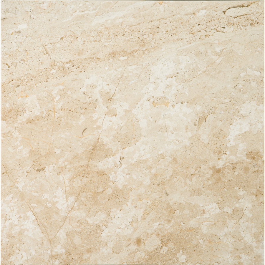 Shop emser 6 pack daino reale marble floor and wall tile for 18 x 18 marble floor tile