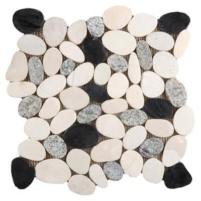 Emser Flat Venetian Pebble 11 Pack Italia Natural Stone