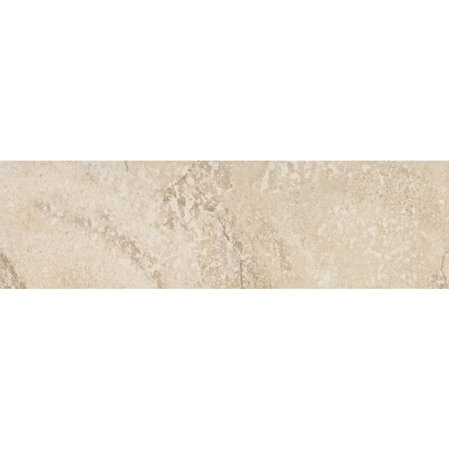 Emser Bombay Arcot Porcelain Bullnose Tile (Common: 3-in x 13-in; Actual: 2.95-in x 12.99-in)