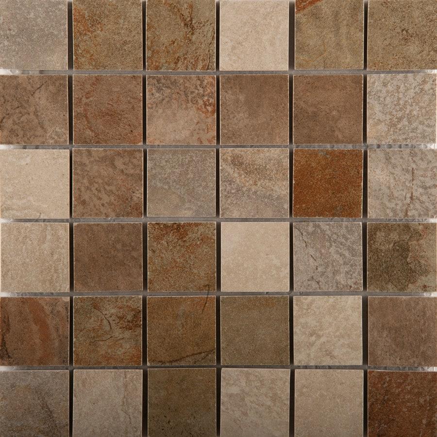 Emser Bombay Novato Porcelain Border Tile (Common: 13-in x 13-in; Actual: 12.99-in x 12.99-in)