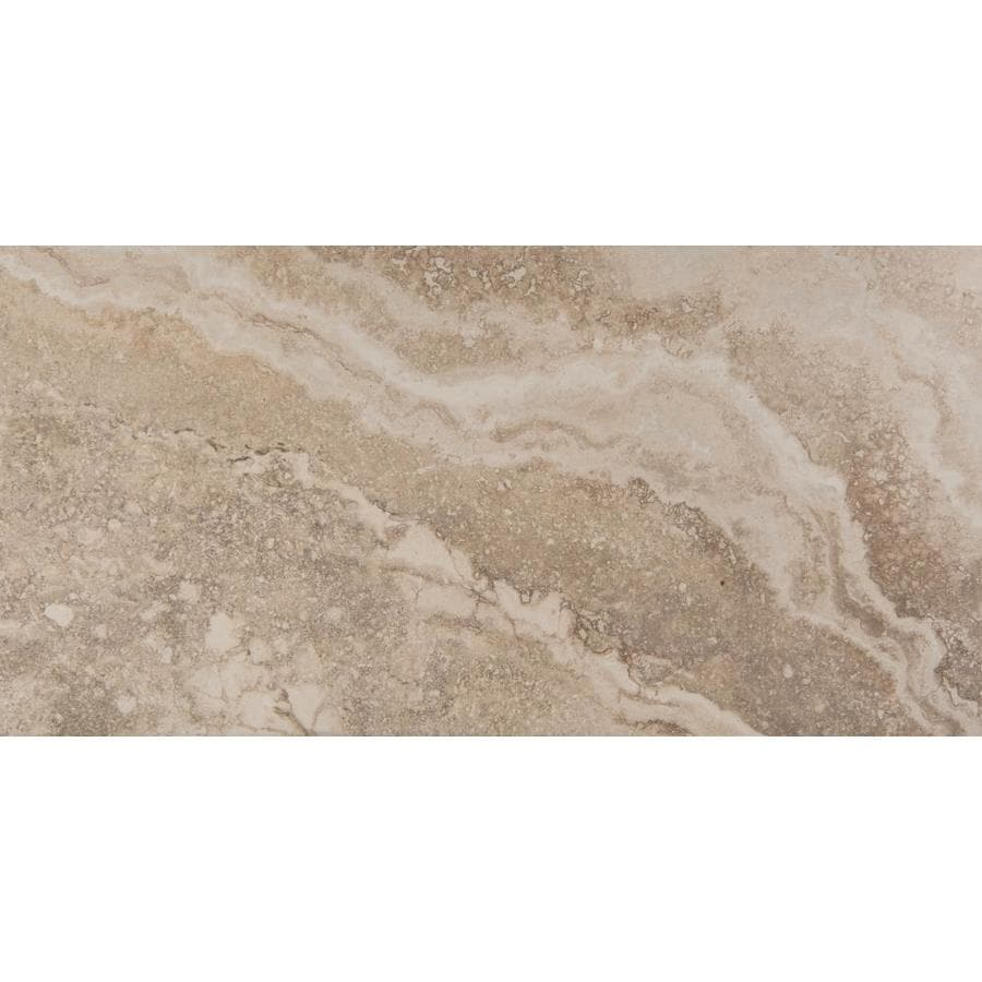 Emser Homestead 6-Pack Cream Porcelain Floor and Wall Tile (Common: 12-in x 24-in; Actual: 11.79-in x 23.79-in)