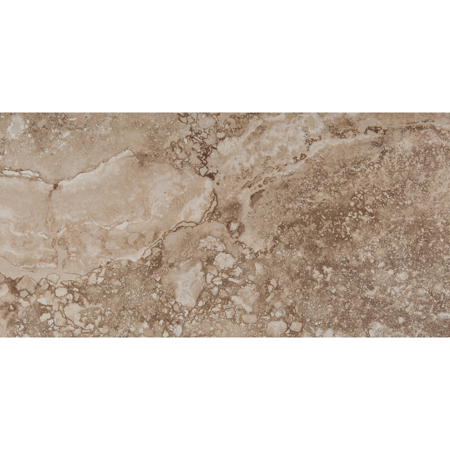 Emser Homestead 6-Pack Beige Porcelain Floor and Wall Tile (Common: 12-in x 24-in; Actual: 11.79-in x 23.79-in)