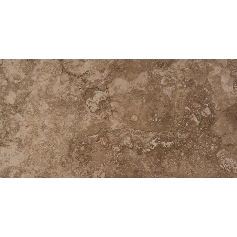 Emser Homestead 6-Pack Noce Porcelain Floor and Wall Tile (Common: 12-in x 24-in; Actual: 11.79-in x 23.79-in)
