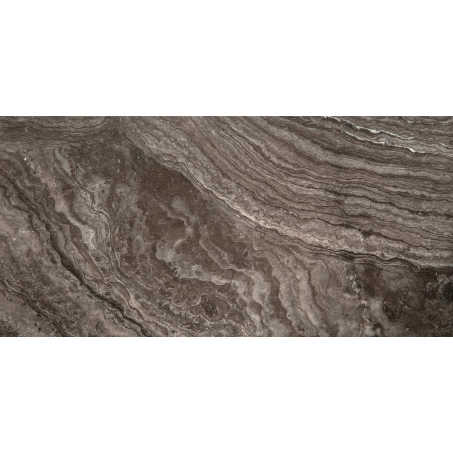 Emser Pergamo 6-Pack Nero Porcelain Floor and Wall Tile (Common: 12-in x 24-in; Actual: 23.62-in x 11.81-in)