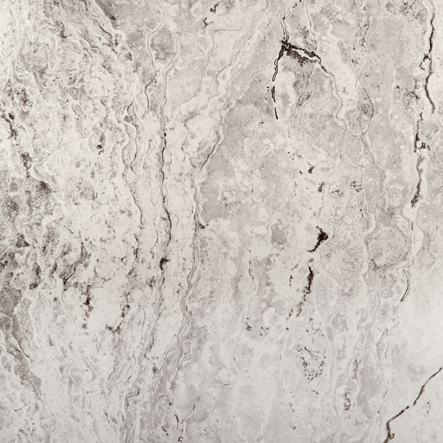 Emser Pergamo 7-Pack Bianco Porcelain Floor and Wall Tile (Common: 18-in x 18-in; Actual: 17.73-in x 17.73-in)