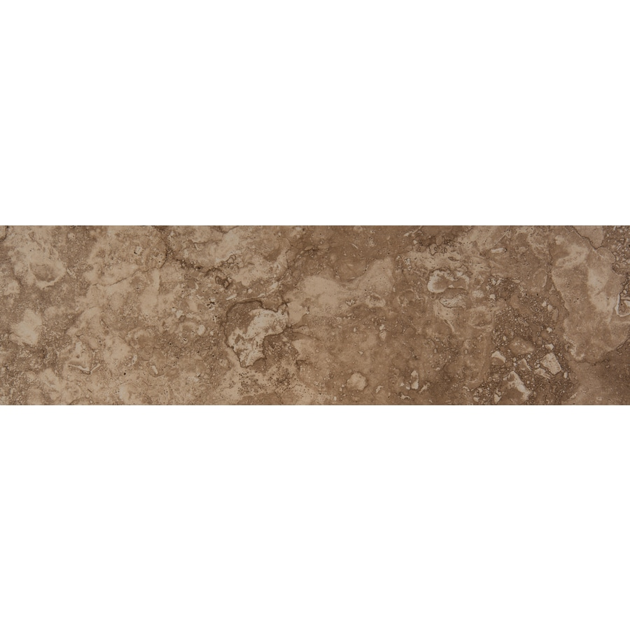Emser Homestead Noce Porcelain Bullnose Tile (Common: 3-in x 13-in; Actual: 2.95-in x 12.99-in)
