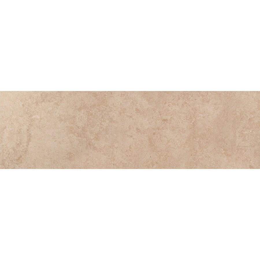 Emser Baja Rosarito Ceramic Bullnose Tile (Common: 3-in x 13-in; Actual: 13.11-in x 3.11-in)