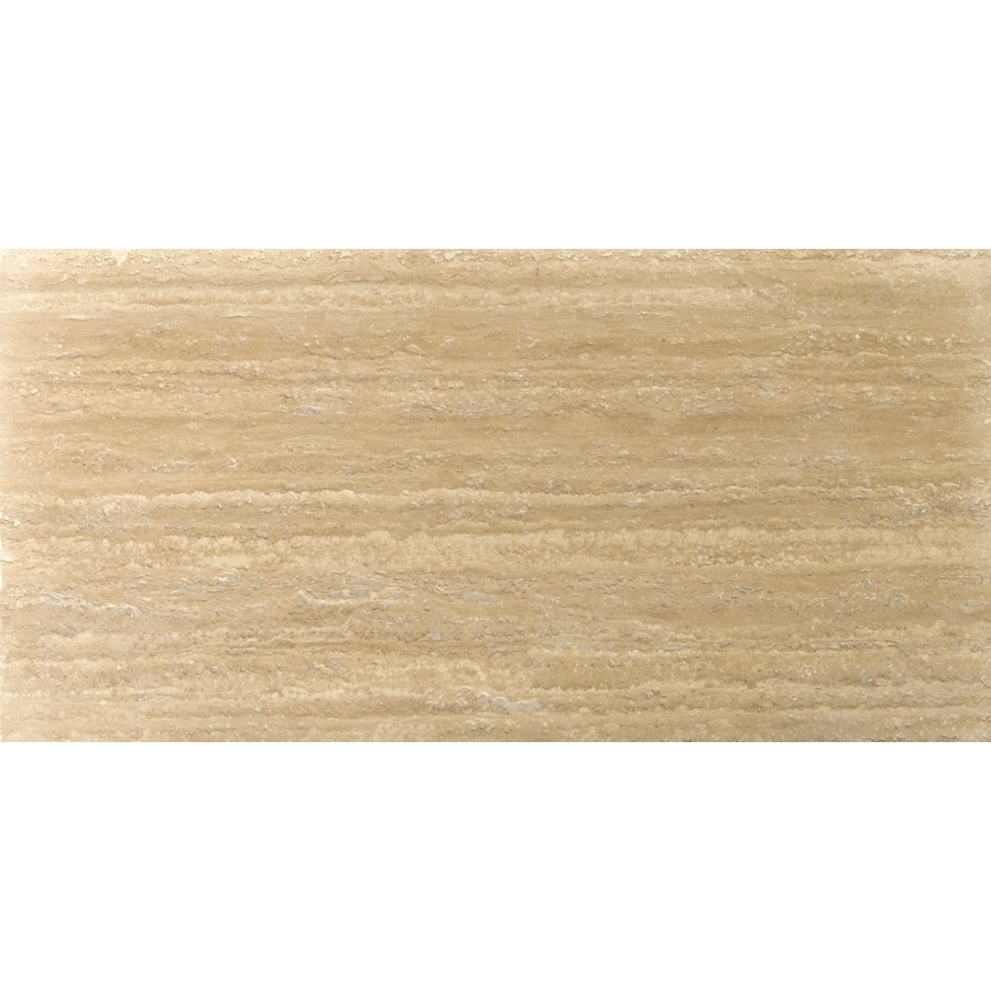Emser Dore Select Travertine Floor and Wall Tile (Common: 12-in x 24-in; Actual: 12-in x 24-in)
