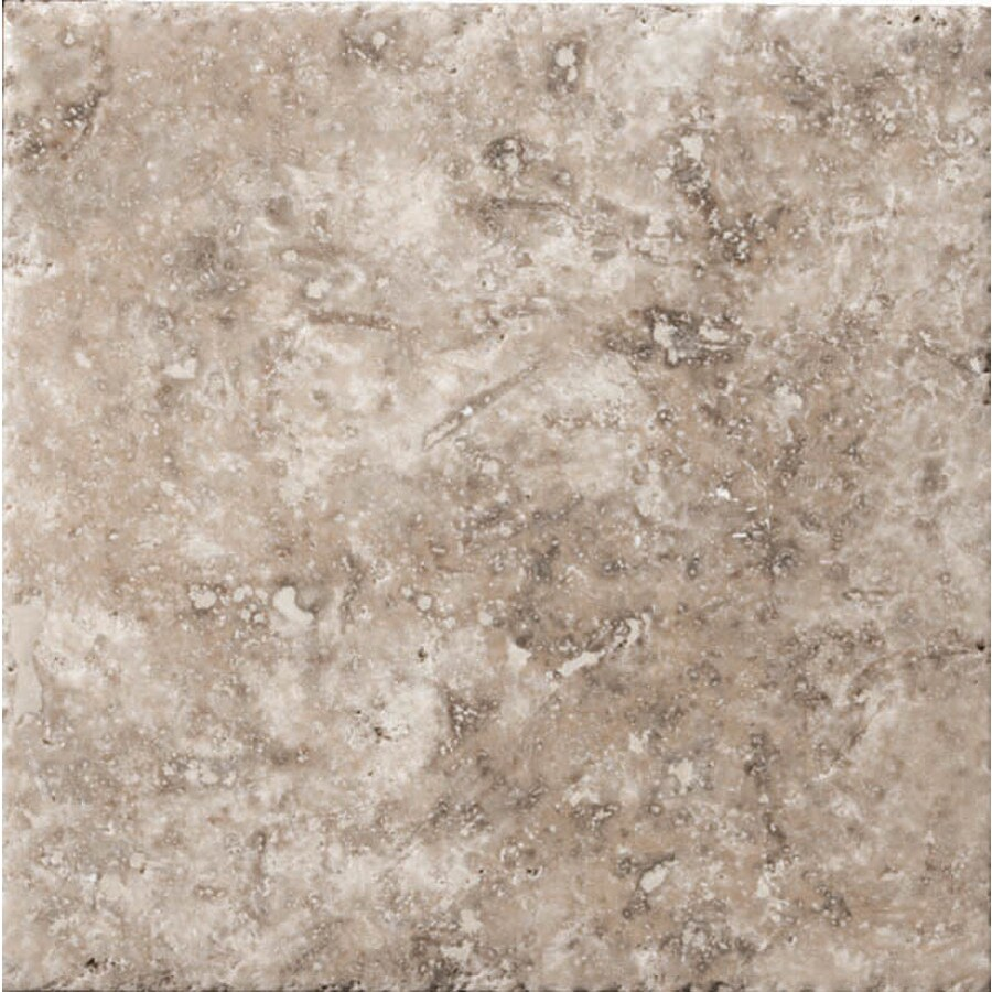 Emser Philadelphia Travertine Floor and Wall Tile (Common: 8-in x 8-in; Actual: 7.96-in x 7.96-in)