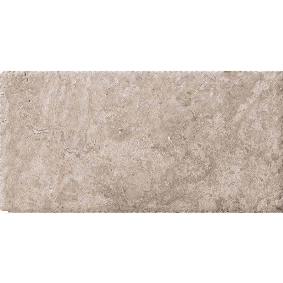 Emser Philadelphia Travertine Floor and Wall Tile (Common: 8-in x 16-in; Actual: 8-in x 16-in)