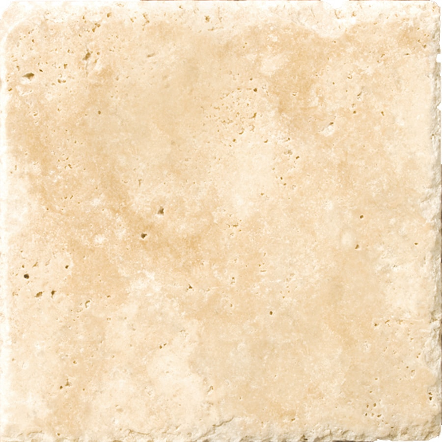 Emser Umbria Savera Travertine Floor and Wall Tile (Common: 8-in x 8-in; Actual: 8.05-in x 8.05-in)