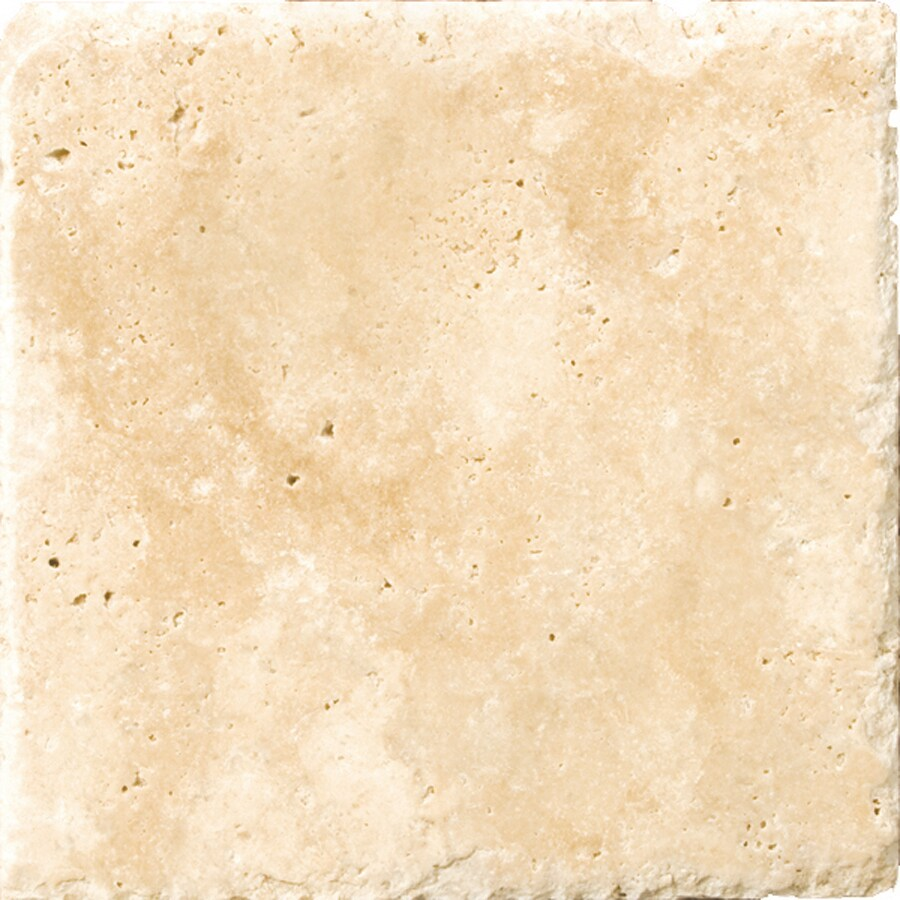 Emser Umbria Savera Travertine Floor and Wall Tile (Common: 8-in x 16-in; Actual: 8.01-in x 16.01-in)