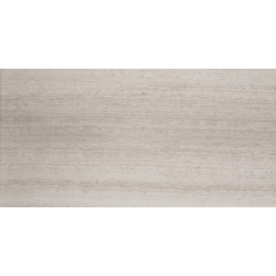 Emser 6-Pack Cream Marble Floor and Wall Tile (Common: 12-in x 24-in; Actual: 12-in x 24-in)