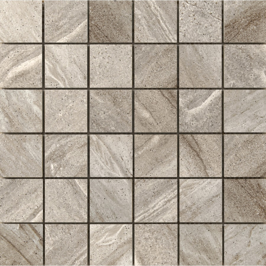 Emser Melbourne 10-Pack Knox Uniform Squares Mosaic Ceramic Floor and Wall Tile (Common: 13-in x 13-in; Actual: 13.11-in x 13.11-in)