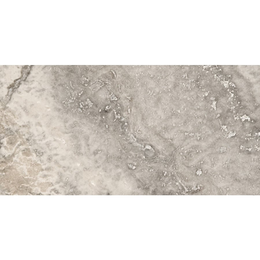 Emser Silver Travertine Floor and Wall Tile (Common: 12-in x 24-in; Actual: 12-in x 24-in)