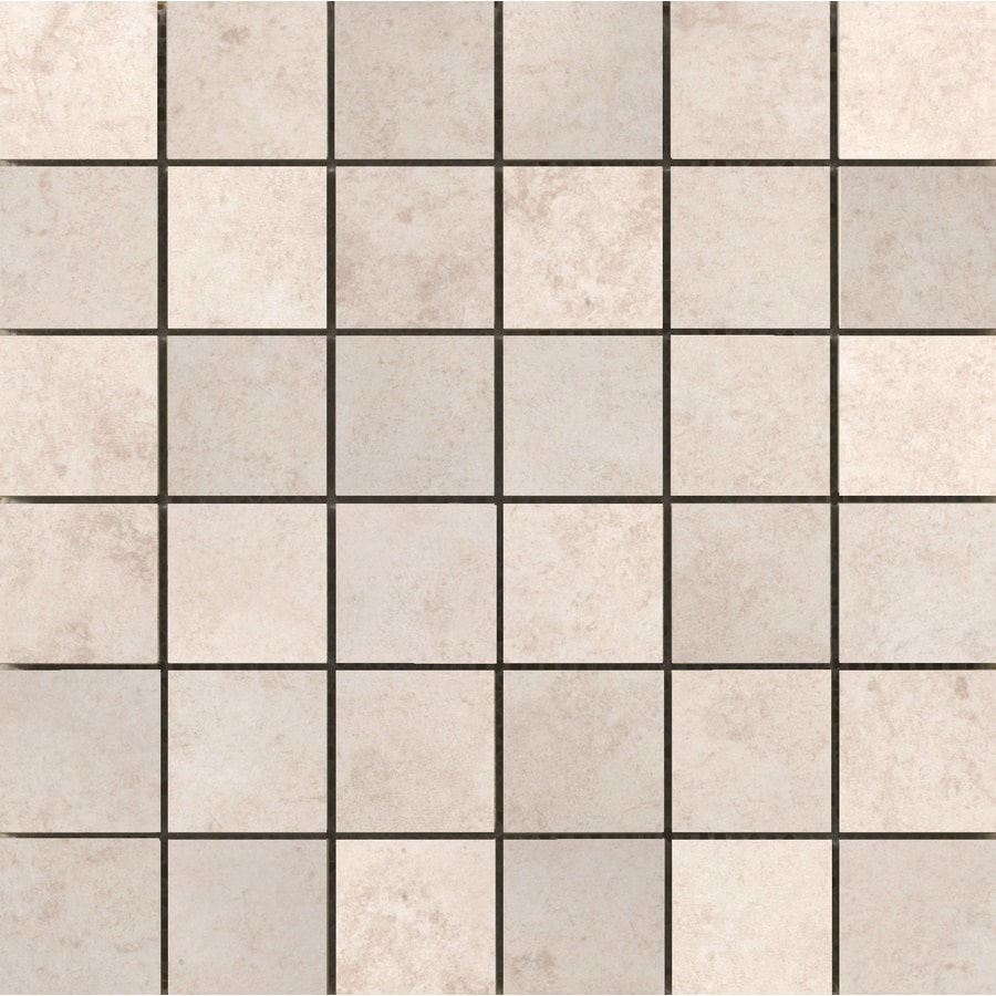 Emser Baja 10-Pack Mexicali Uniform Squares Mosaic Ceramic Floor and Wall Tile (Common: 13-in x 13-in; Actual: 13.11-in x 13.11-in)