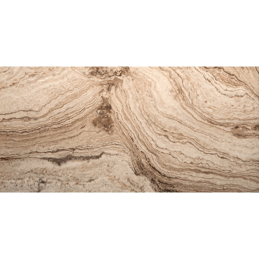 Emser Pergamo Avorio Porcelain Floor and Wall Tile (Common: 3-in x 13-in; Actual: 13.11-in x 3.11-in)