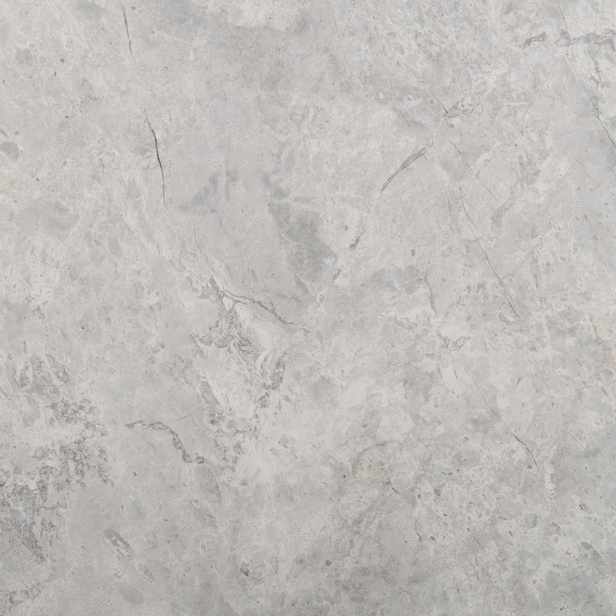 Emser Silver Marble Floor and Wall Tile (Common: 18-in x 18-in; Actual: 12-in x 12-in)