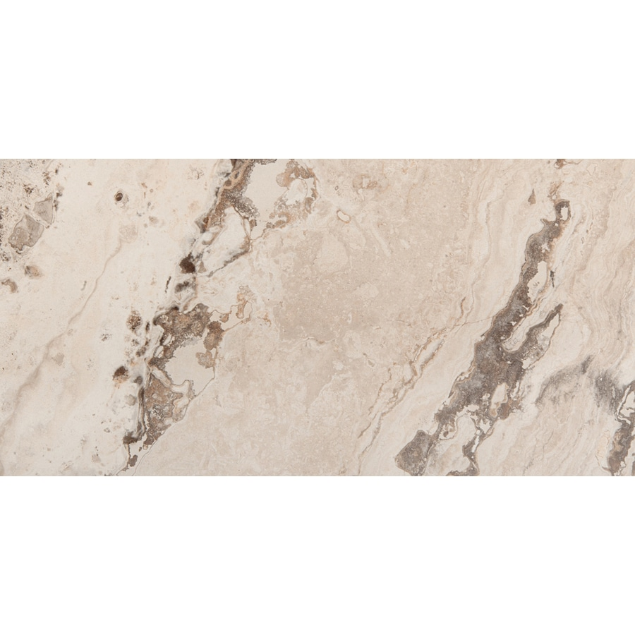 Emser Pergamo Naturale Porcelain Floor and Wall Tile (Common: 3-in x 13-in; Actual: 13.11-in x 3.11-in)