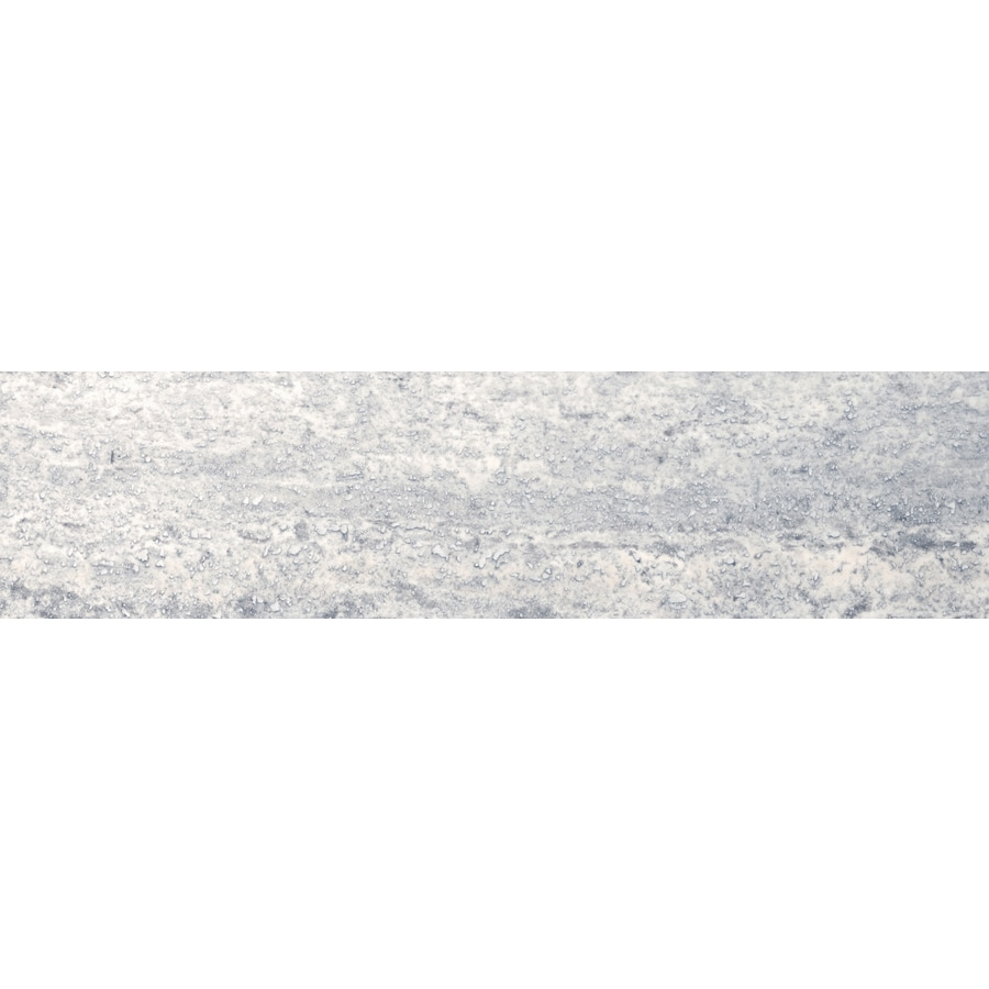 Emser TRAV VEINCUT Silver  Travertine Floor and Wall Tile (Common: 6-in x 24-in; Actual: 24-in x 6-in)