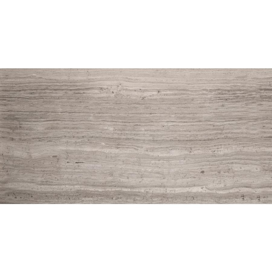 Emser 6-Pack Gray Marble Floor and Wall Tile (Common: 12-in x 24-in; Actual: 12-in x 24-in)