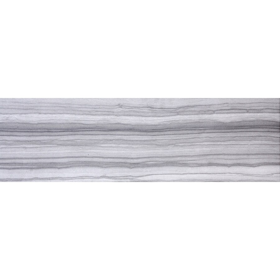 Emser Chronicle Record Porcelain Bullnose Tile (Common: 3-in x 24-in; Actual: 24-in x 3-in)