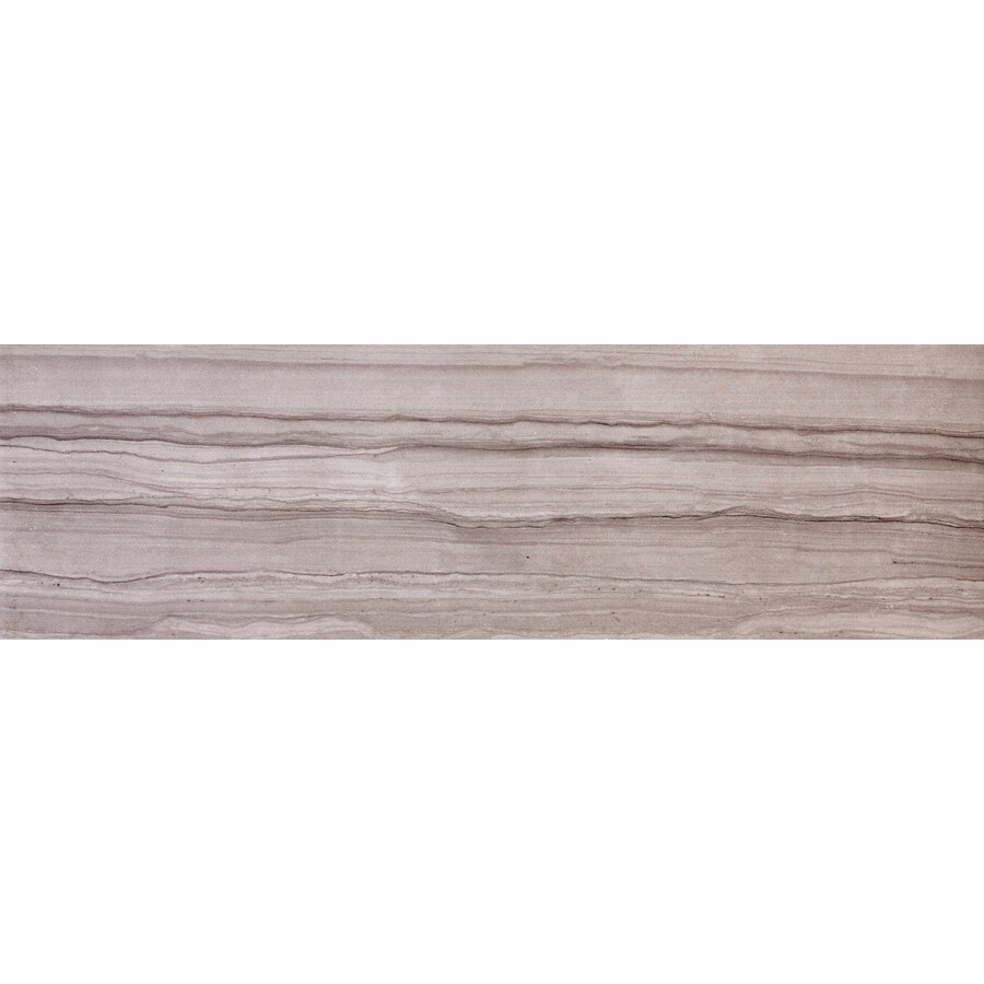 Emser Chronicle Script Porcelain Bullnose Tile (Common: 3-in x 24-in; Actual: 24-in x 3-in)