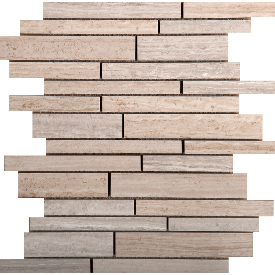 Emser Ambiance 11-Pack Coast Porcelain Floor and Wall Tile (Common: 10-in x 12-in; Actual: 9.84-in x 11.81-in)