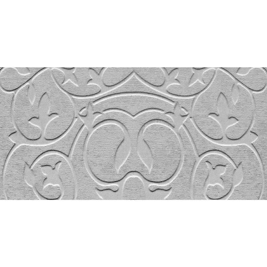 Emser SURFACE 8-Pack Gray Porcelain Wall Tile (Common: 12-in x 24-in; Actual: 11.73-in x 23.62-in)
