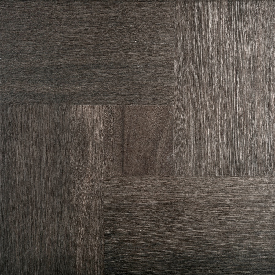 shop emser parquet 7 pack espresso wood look porcelain. Black Bedroom Furniture Sets. Home Design Ideas