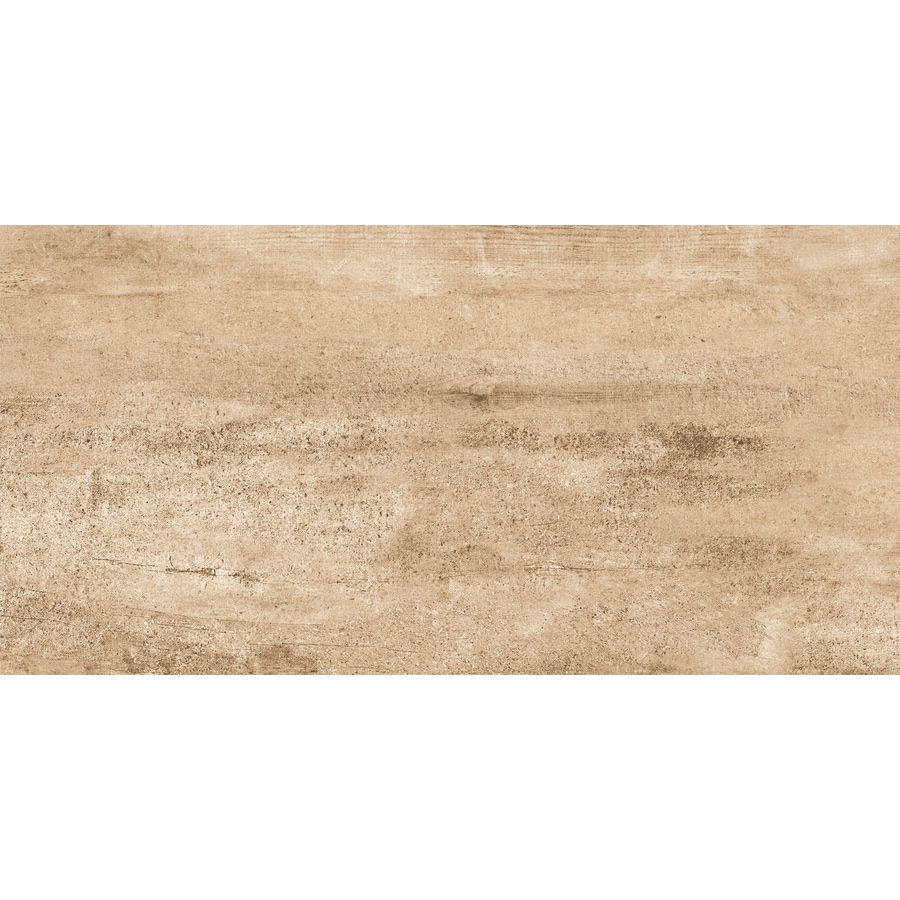 Emser Explorer 8-Pack Barcelona Wood Look Porcelain Floor and Wall Tile (Common: 12-in x 24-in; Actual: 11.81-in x 23.62-in)