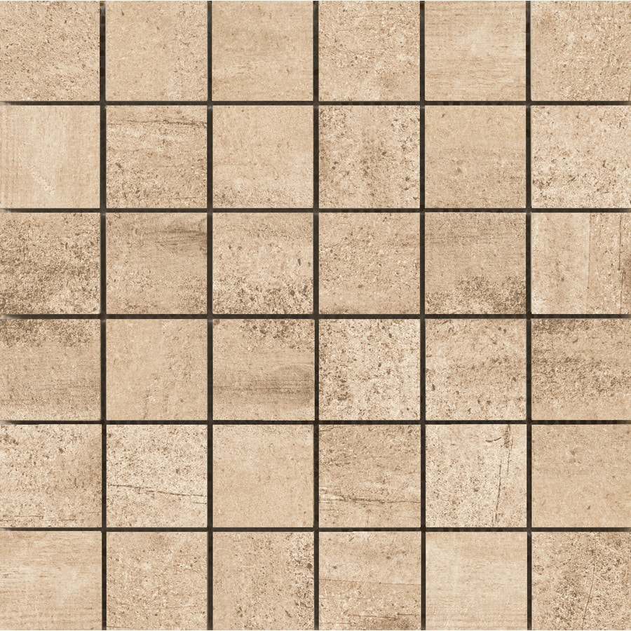 Emser Explorer Milan Wood Look Porcelain Border Tile (Common: 13-in x 13-in; Actual: 12.6-in x 12.6-in)