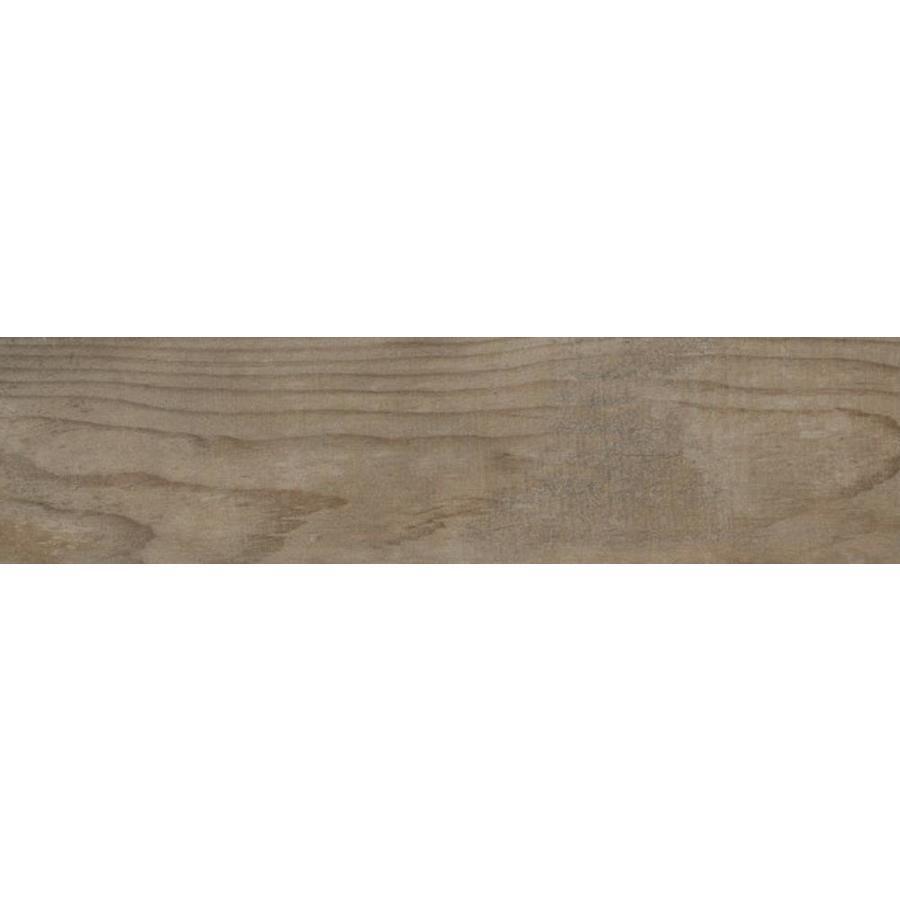 Emser Explorer Barcelona Wood Look Porcelain Bullnose Tile (Common: 3-in x 13-in; Actual: 12.99-in x 2.95-in)