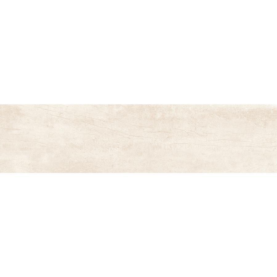 Emser Explorer London Wood Look Porcelain Bullnose Tile (Common: 3-in x 13-in; Actual: 12.99-in x 2.95-in)
