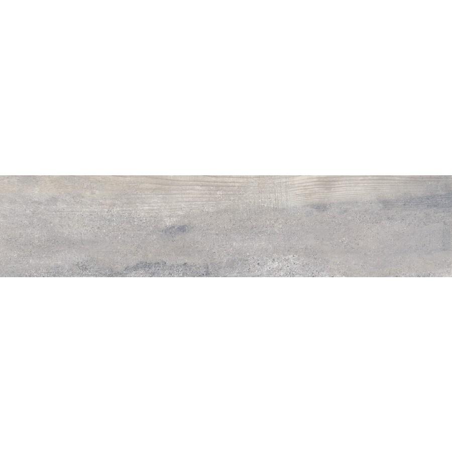 Emser EXPLORER Paris Wood Look Porcelain Bullnose Tile (Common: 3-in x 13-in; Actual: 2.95-in x 12.99-in)