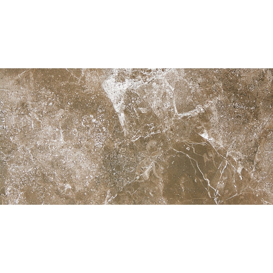 Emser Realm 8-Pack State Ceramic Floor and Wall Tile (Common: 12-in x 24-in; Actual: 11.81-in x 23.62-in)
