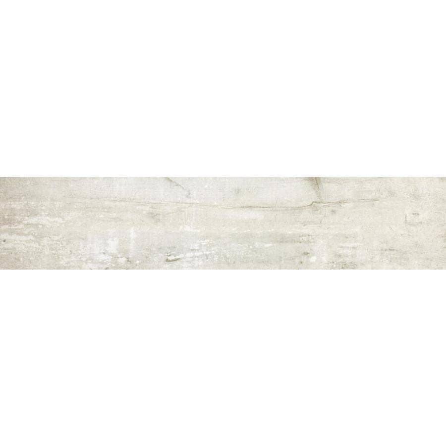 Emser RANCH 8-Pack Farm Wood Look Porcelain Floor and Wall Tile (Common: 8-in x 36-in; Actual: 7.76-in x 35.43-in)