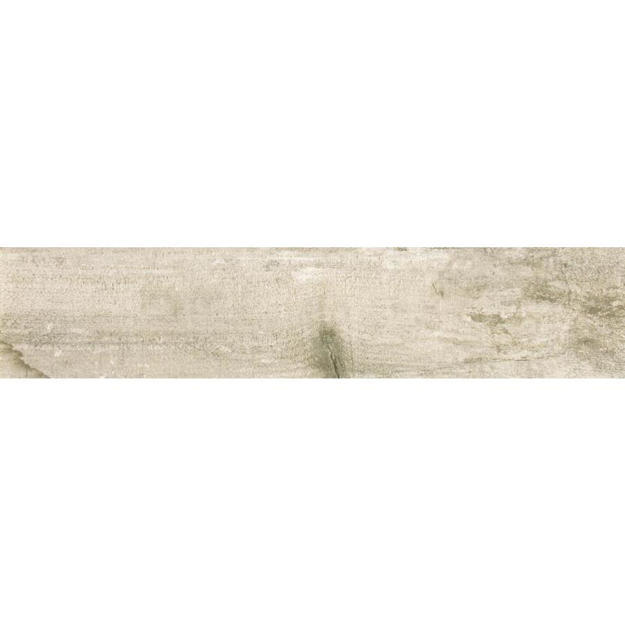Emser RANCH 8-Pack Land Wood Look Porcelain Floor and Wall Tile (Common: 8-in x 36-in; Actual: 35.43-in x 7.76-in)