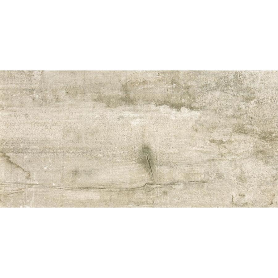 Emser RANCH 2-Pack Land Wood Look Porcelain Floor and Wall Tile (Common: 24-in x 36-in; Actual: 23.62-in x 35.43-in)