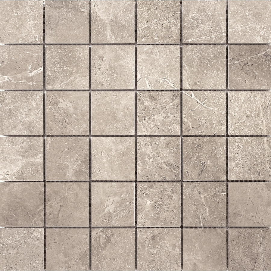 Emser Realm 11-Pack Nation Uniform Squares Mosaic Ceramic Floor and Wall Tile (Common: 13-in x 13-in; Actual: 12.99-in x 12.99-in)
