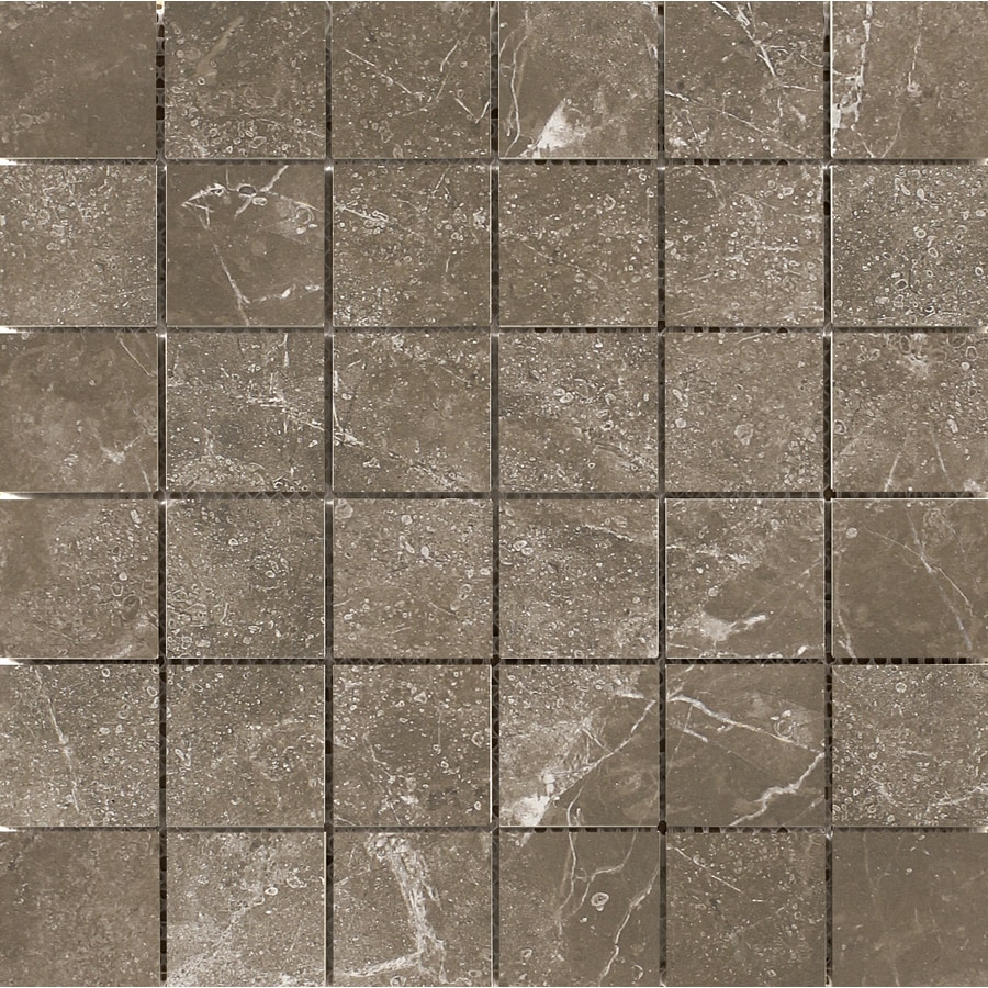 Emser Realm 11-Pack State Uniform Squares Mosaic Ceramic Floor and Wall Tile (Common: 13-in x 13-in; Actual: 12.99-in x 12.99-in)