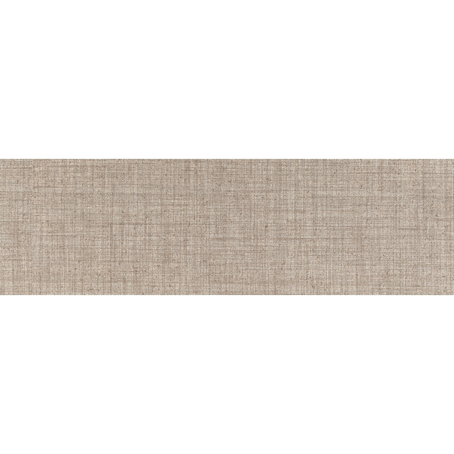 Emser Canvas Linen Porcelain Bullnose Tile (Common: 3-in x 12-in; Actual: 11.73-in x 2.83-in)
