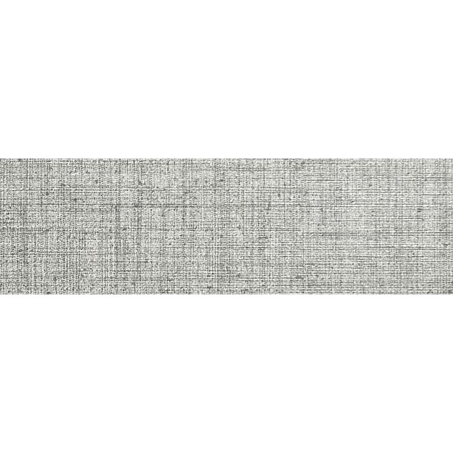 Emser CANVAS Tweed Porcelain Bullnose Tile (Common: 3-in x 12-in; Actual: 2.83-in x 11.73-in)