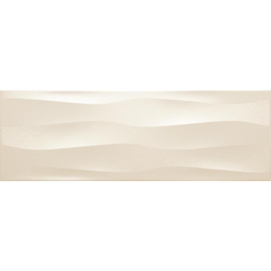 Emser Artwork 4 Pack Cream 12 In X 35 In Ceramic Wall Tile