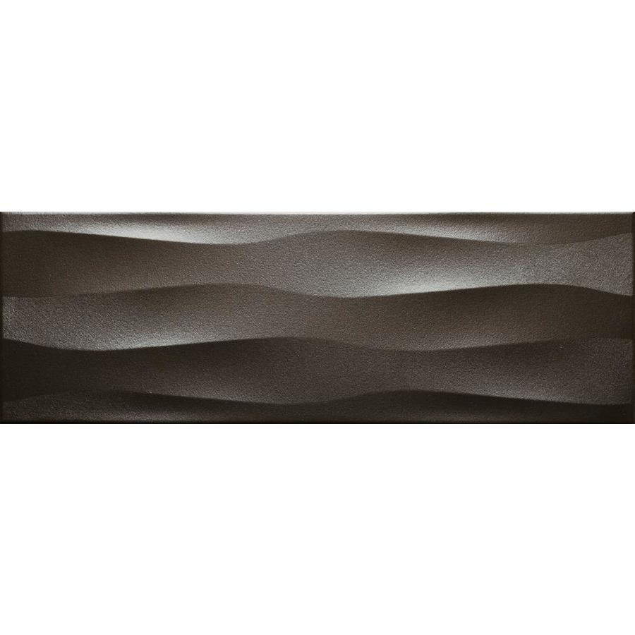 Emser ARTWORK 4-Pack Metal Ceramic Wall Tile (Common: 18-in x 36-in; Actual: 11.81-in x 35.43-in)